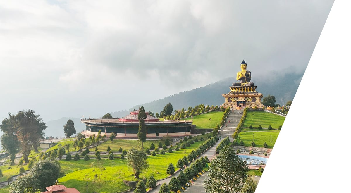 Buddha park - india