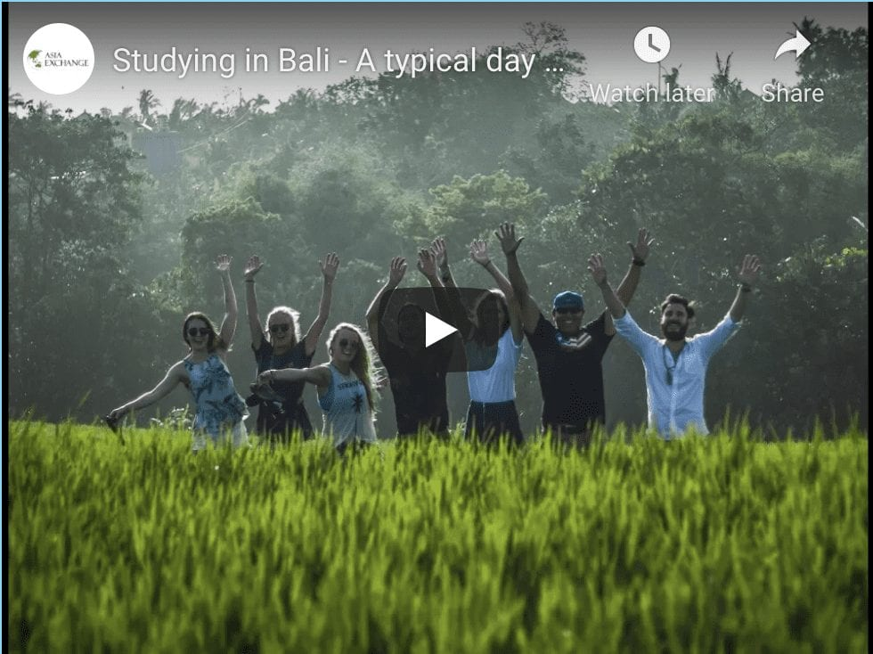 Study abroad at warmadewa university in bali with asia exchange