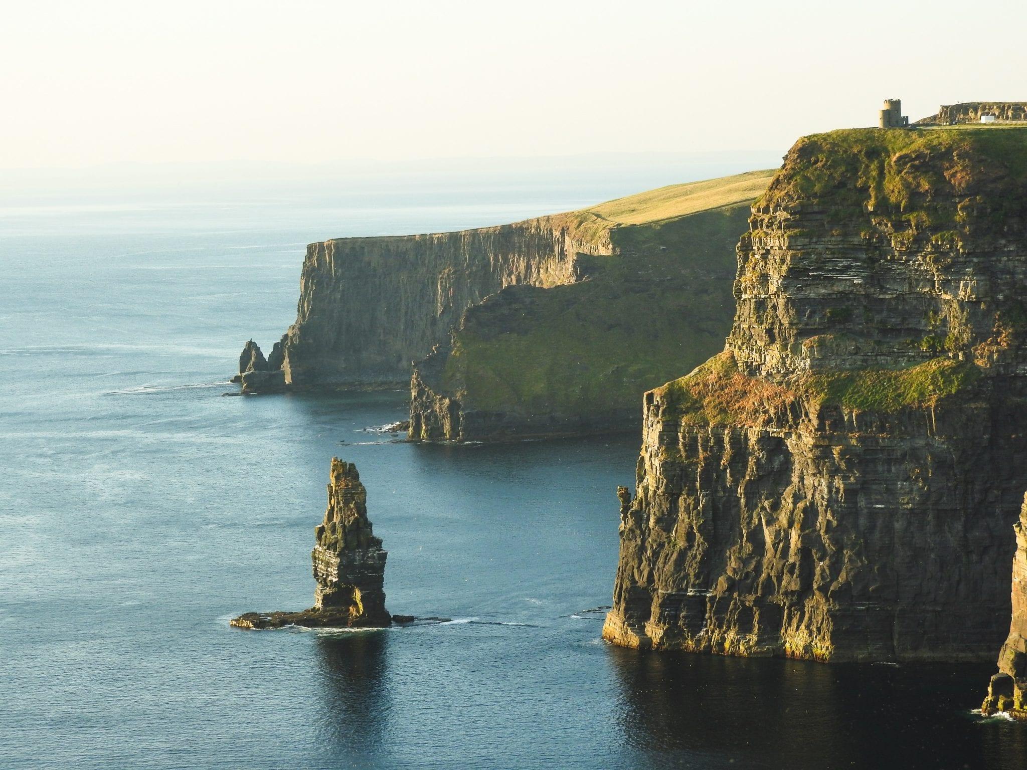 cliffs of moher ireland cliffs ocean
