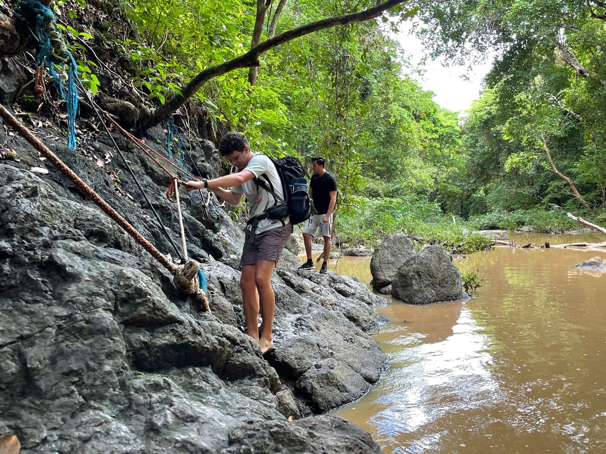 adventures in Costa Rica rainforest