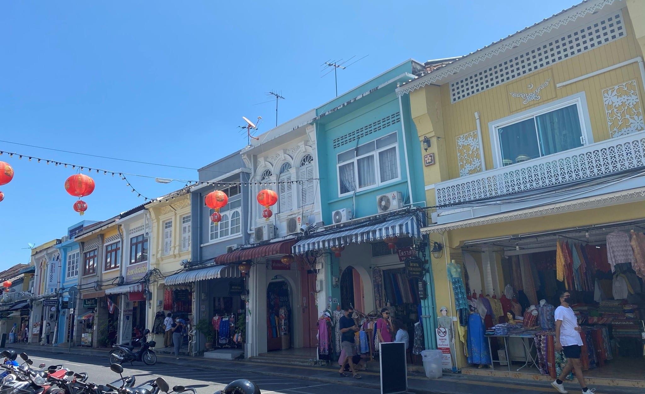 street Thailand travel