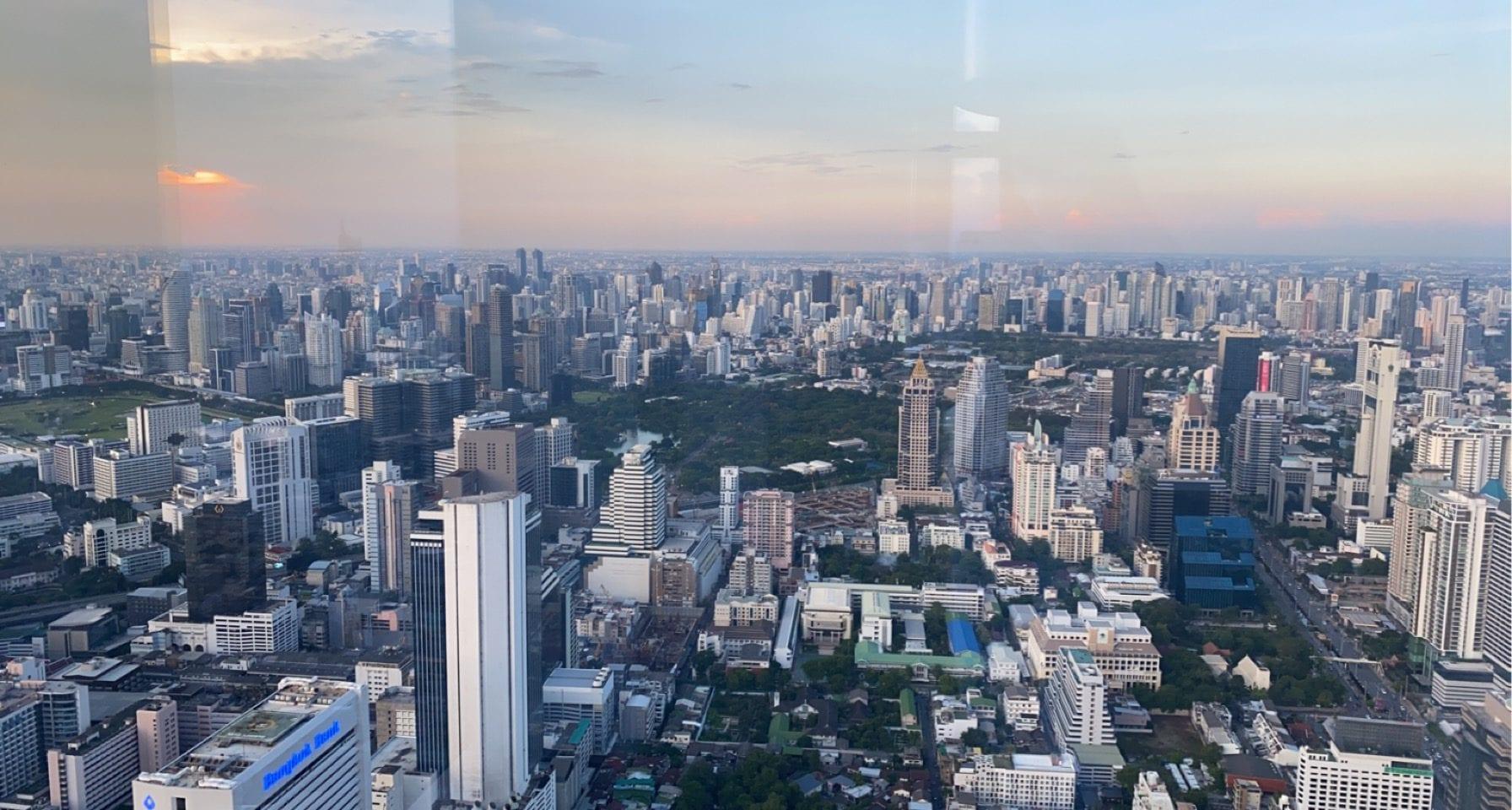 Bangkok city view Thailand