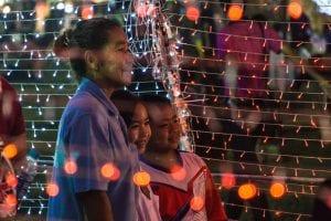 family thailand grandma children