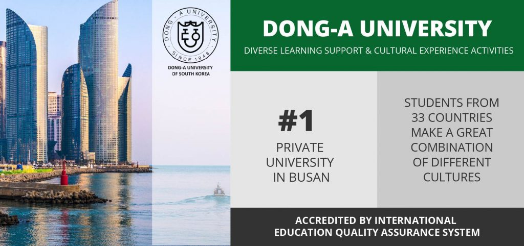 dong a university infographic