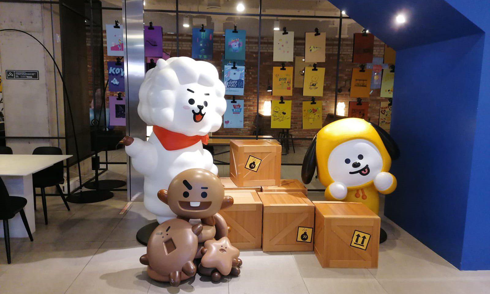 k-pop merch korea bt21