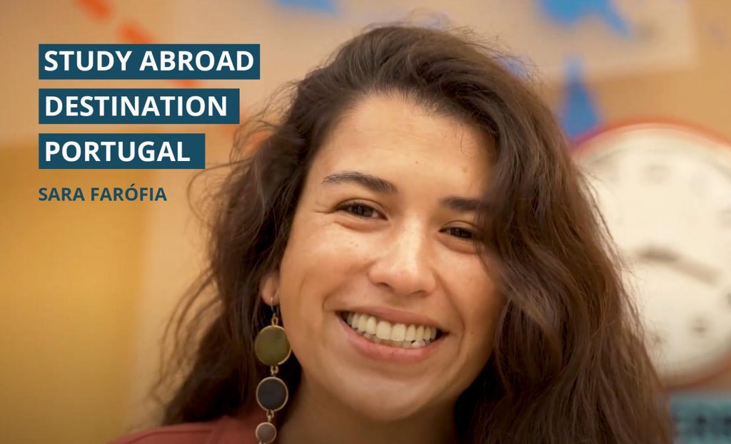 study abroad destination portugal - interview with sara-farofia